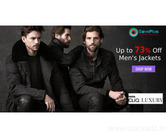 Flat Up to 73% Off Men's Jackets