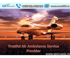 Hire Inimitable and Cheapest Cost Air Ambulance Service in Delhi