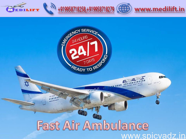 Book the Most Esteemed Air Ambulance Service in Patna by Medilift - 1