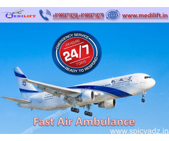 Book the Most Esteemed Air Ambulance Service in Patna by Medilift