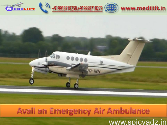 Obtain Ultimate Patient Transfer Air Ambulance Service in Kolkata - 1