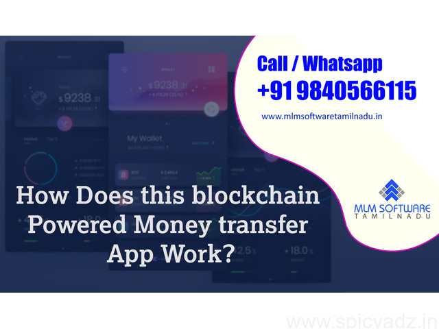 How Does this blockchain Powered Money transfer App Work? - 1