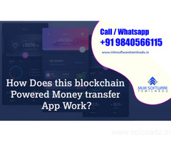 How Does this blockchain Powered Money transfer App Work?