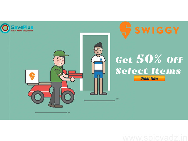 Swiggy Coupons, Deals, Sales, and Codes: Get 50% off select items - 1