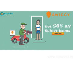 Swiggy Coupons, Deals, Sales, and Codes: Get 50% off select items