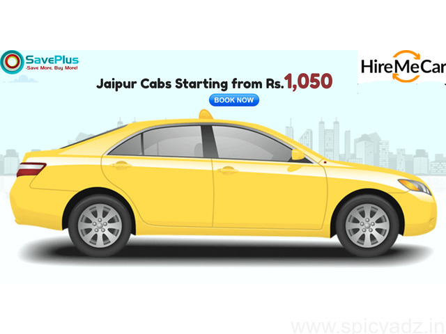 Jaipur Cabs Starting from Rs.1,050 - 1