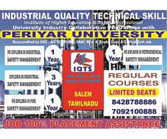 Diploma Petro chemical and Safety Management in Tamilnadu