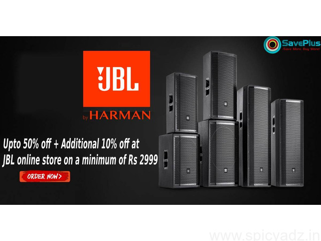 JBL Coupons, Deals & Offers: Shop upto 50% Off JBL Products-Feb 2021 - 1