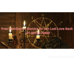 Free Vashikaran Mantra To Get Lost Love Back +91-88752-70809