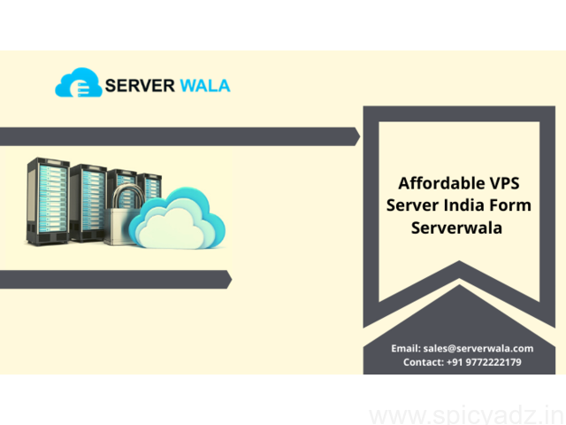 Affordable VPS Server India Form Serverwala - 1