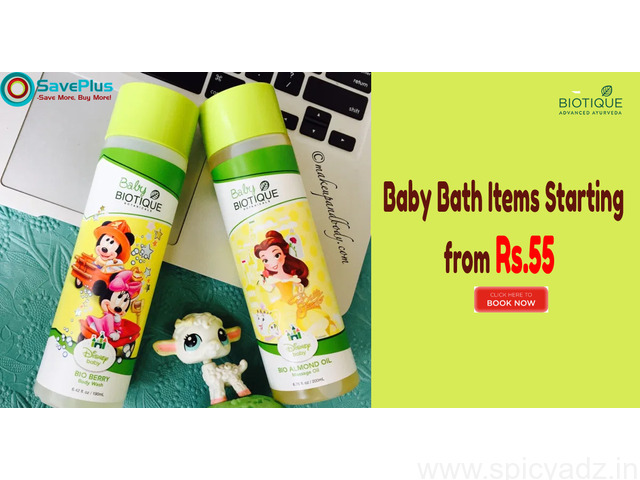 Baby Bath Items Starting from Rs.55 - 1