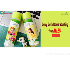 Baby Bath Items Starting from Rs.55
