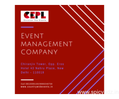 Looking for Event Management Company ?