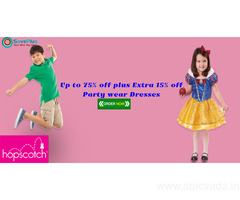 Hopscotch Coupons, Deals, sales , and Codes: Up to 75% off plus Extra 15% off Party wear Dresses