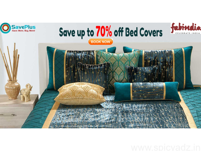 Save up to 70% off Bed Covers - 1