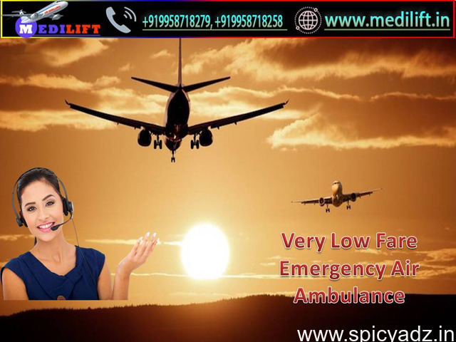Obtain Modern and Unique Charter Aircraft in Guwahati by Medilift - 1