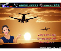 Obtain Modern and Unique Charter Aircraft in Guwahati by Medilift