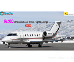 Rs.900 off International Return Flight Bookings
