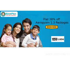 Flat 38% off Aarogyam 1.3 Packages