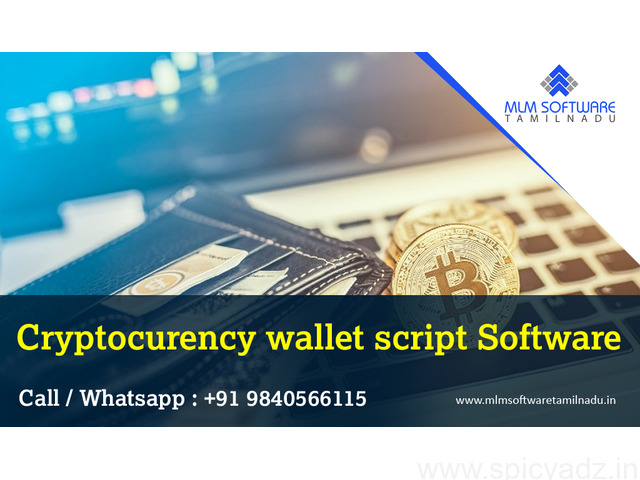 Cryptocurrency Wallet Script Software-MLM Software Tamilnadu - 1