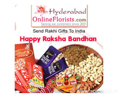 Order colourful Rakhis & Gifts at Cheap Price & get Same Day Delivery to Hyderabad
