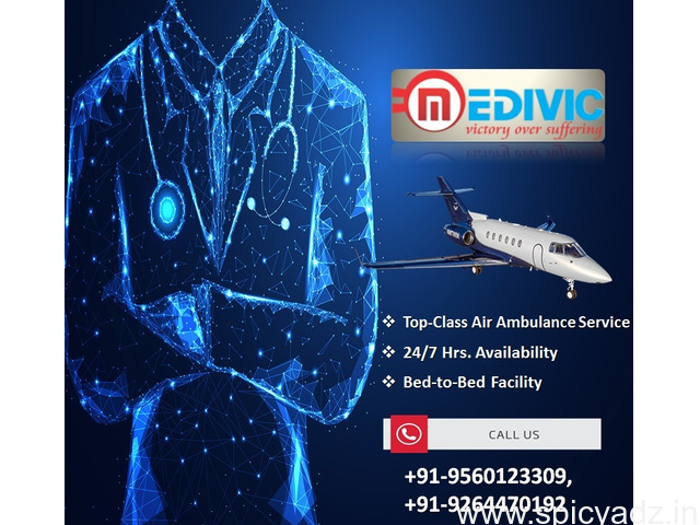 Get Instantly Solution by Medivic Air Ambulance Kharagpur - 1