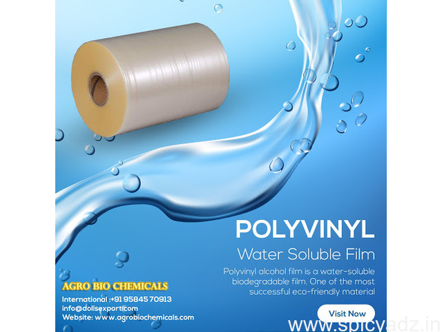 POLYVINYL Water-Soluble Film Suppliers and Manufacturers - 1