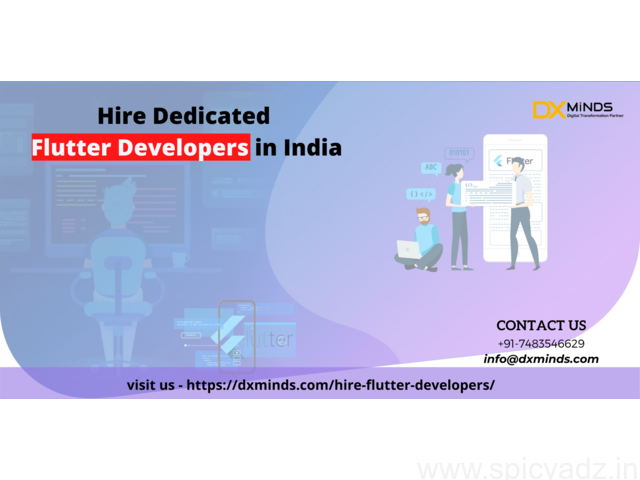 Hire Flutter Programmers for Onsite and Offsite Requirements - 1