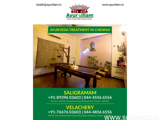Ayurillam - Ayurveda Treatment in Chennai - 1
