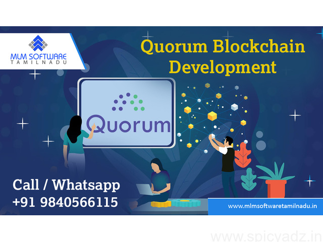 Quorum Blockchain Development-MLM Software Tamilnadu - 1