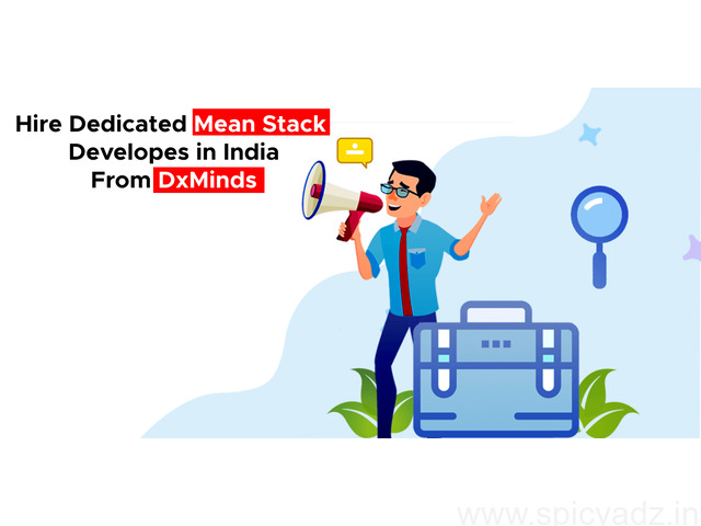 Hire ISO certified MEAN Stack Developers in India | DxMinds - 1