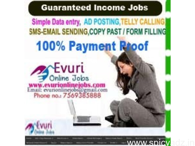 Simple Work From Home Data Typing Jobs - 1