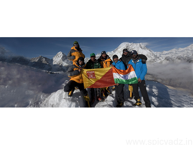 Team ONGC Completes The Mount Everest Summit and  Mount Everest Expedition - 1