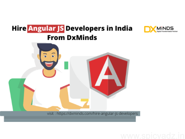 Hire Angular JS Developers in India | DxMinds - 1