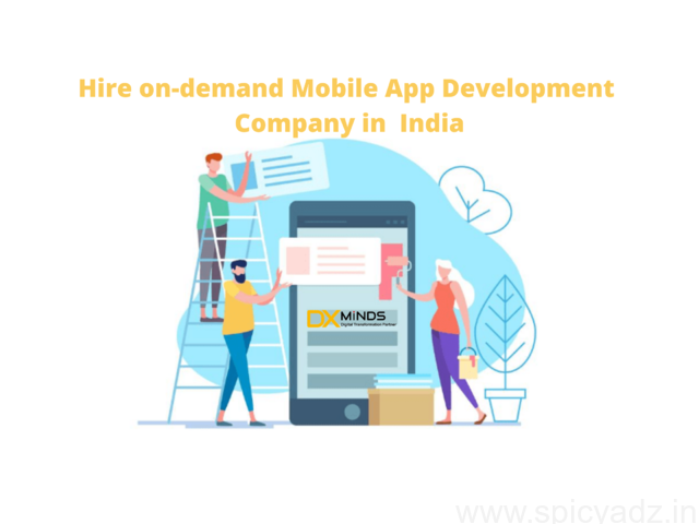 Hire Mobile App Developers in India | DxMinds - 1