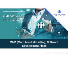 MLM (Multi Level Marketing) Software Development Plans-MLM Software Tamilnadu