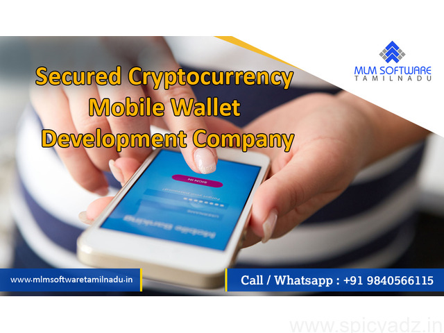 Secured Cryptocurrency Mobile Wallet Development Company – MLM Software Tamilnadu - 1