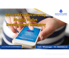Secured Cryptocurrency Mobile Wallet Development Company – MLM Software Tamilnadu