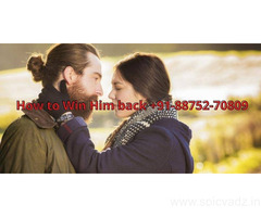 How to Win Him back +91-88752-70809 pandit k. k. sharma