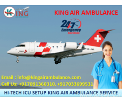 Best Patient Transfer Air Ambulance in Chennai Available by King Ambulance