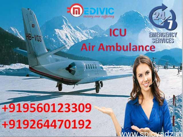 Hire No-1 Air Ambulance in Chennai at Budget-Friendly by Medivic - 1