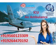 Hire No-1 Air Ambulance in Chennai at Budget-Friendly by Medivic