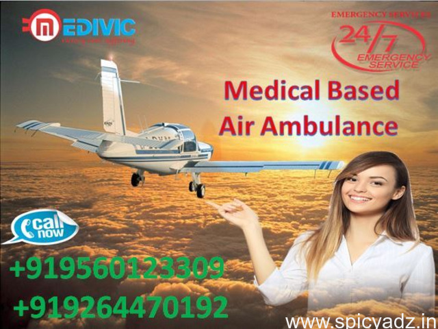 Get Masterly Air Ambulance in Mumbai-at Low-Fare by Medivic - 1
