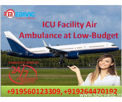 Medivic Air Ambulance in Kolkata with Advance Medical Facility