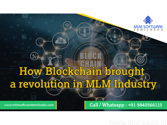 How Blockchain brought a revolution in MLM Industry - 1