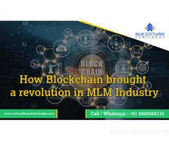 How Blockchain brought a revolution in MLM Industry