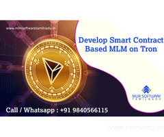 Develop Smart contract - Based MLM on Tron – MLM Software Tamilnadu