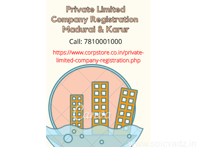 Private Limited Company Registration in Madurai and Karur - 1