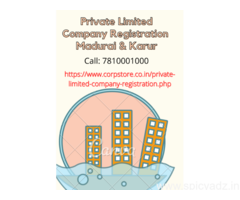 Private Limited Company Registration in Madurai and Karur
