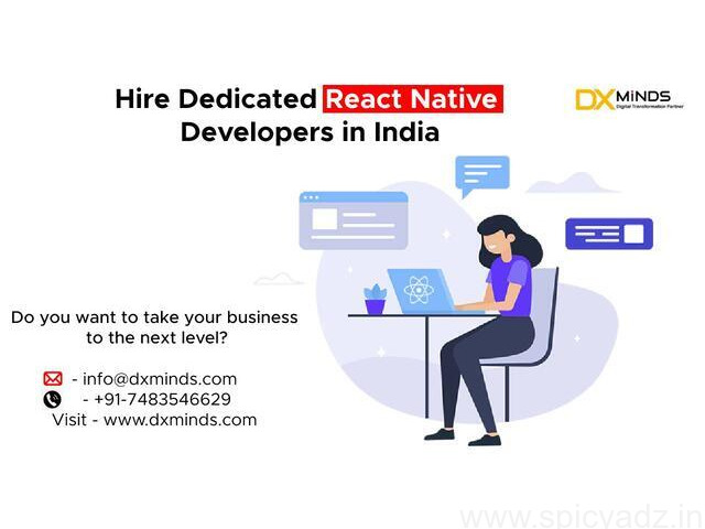 Hire Dedicated React Native Developers in India - 1